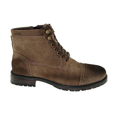 Mustang 4903 502 Schuhe Herren Stiefel Stiefelette Boots Leder