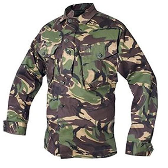 f5b8a966c Colour: WOODLAND British DPM CAMOUFLAGE | Size: S Small 5-6 years AGE:  Amazon.co.uk: Clothing