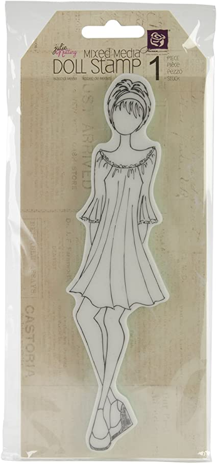 Stampers Anonymous CMS Set StampersA Cling Stamp THoltz Mixed Media 2
