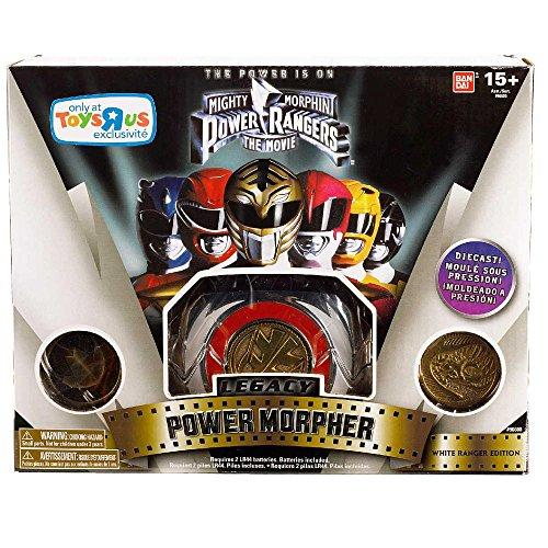 Power Rangers Mighty Morphin Legacy Power Morpher White Ranger Movie Edition