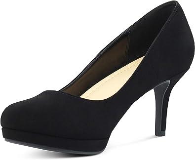 AFFORDABLE FOOTWEAR Women's Almond Toe