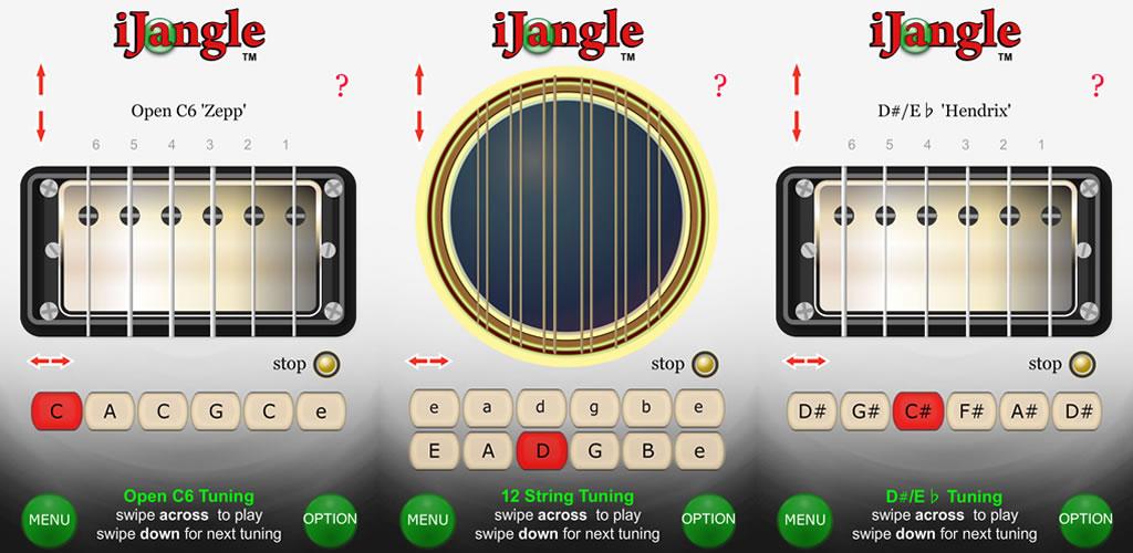 iJangle : afinación de guitarra - afinador de guitarra ...