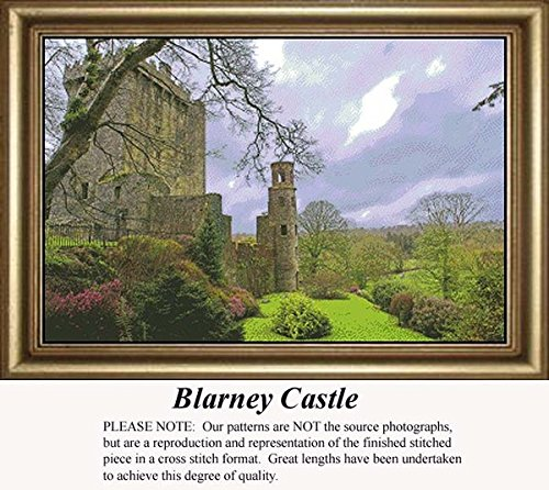 Blarney Castle, Irish Counted Cross Stitch Pattern (Pattern Only, You Provide the Floss and Fabric)