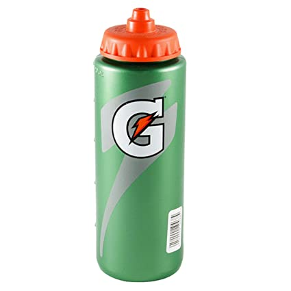 07d76952a9 Amazon.com : Gatorade Leakproof Green Orange Sport Squeeze Water Bottle 20  Oz : Sports & Outdoors