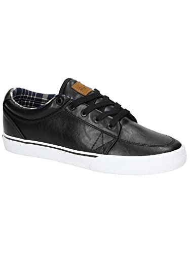 Globe Black SL GS Shoe (US 8, Black)