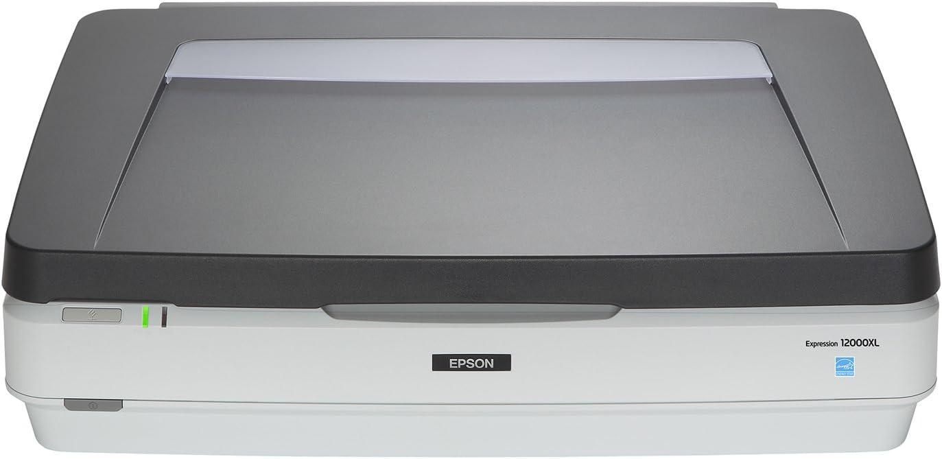 Epson 12000XL 2400 x 4800 DPI Numériseur Photo Gris - Scanners (309,88 x 436,88 mm, 2400 x 4800 DPI, 48 bit, 48 bit, 16 bit, Numériseur Photo)