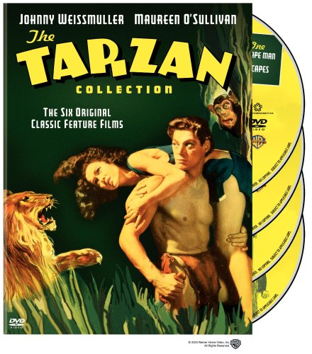 The Tarzan Collection Starring Johnny Weissmuller (Tarzan the Ape Man / Escapes / and His Mate / Finds a Son / Secret Treasure / New York Adventure) by WEA
