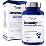 1MD ImmunityMD - Immune Health Probiotic | Potent, Clinically Studied Probiotic Strains with Prebiotic Fiber - Promote…