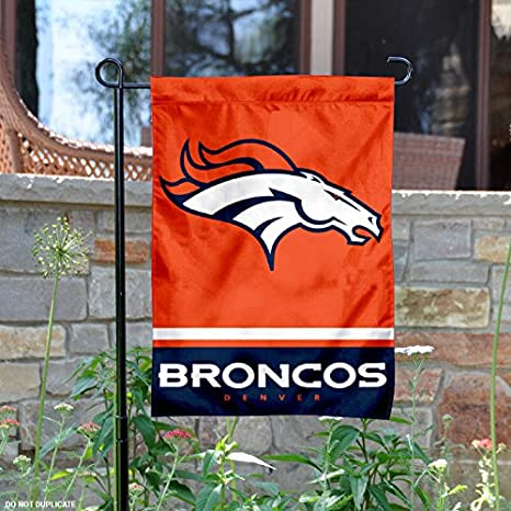 Image Unavailable. Image not available for. Color  WinCraft Denver Broncos  Double Sided Garden Flag 7aa220913
