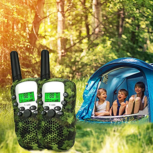 LET'S GO! DIMY Toys for 3-12 Year Old Boys, Outdoor Toys Walkie Talkies for Kids Toys for 3-12 Year Old Boys Girls Gifts Age 3-12 Year Old Boy Toys New Gifts Green DMDJJ01