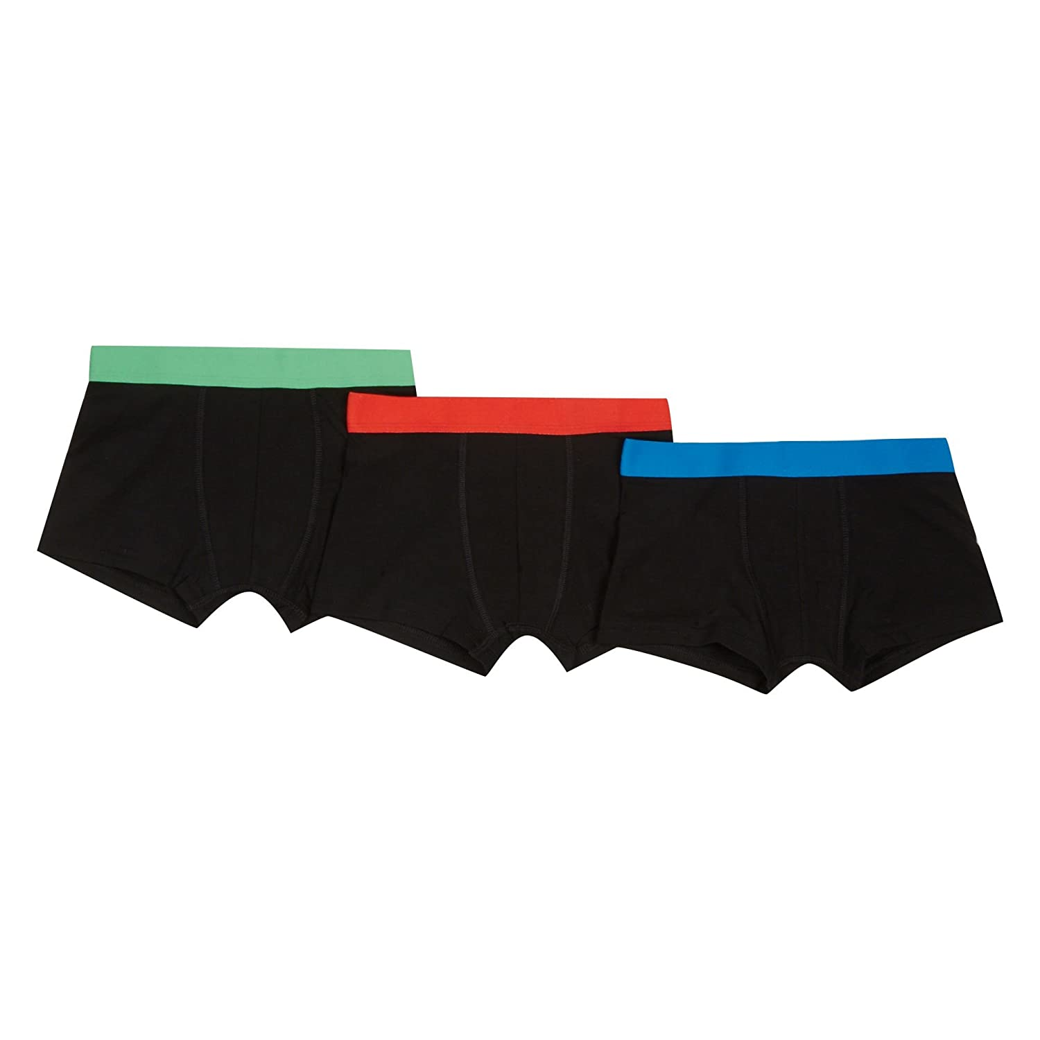 Debenhams Kids 'Boys' 3 Pack Black Trunks
