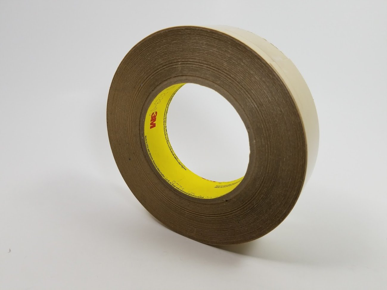 3M 9731 Clear Bonding Tape - 1 in Width x 6.2 mil Thick - Kraft Paper Liner - 95405 [PRICE is per ROLL]