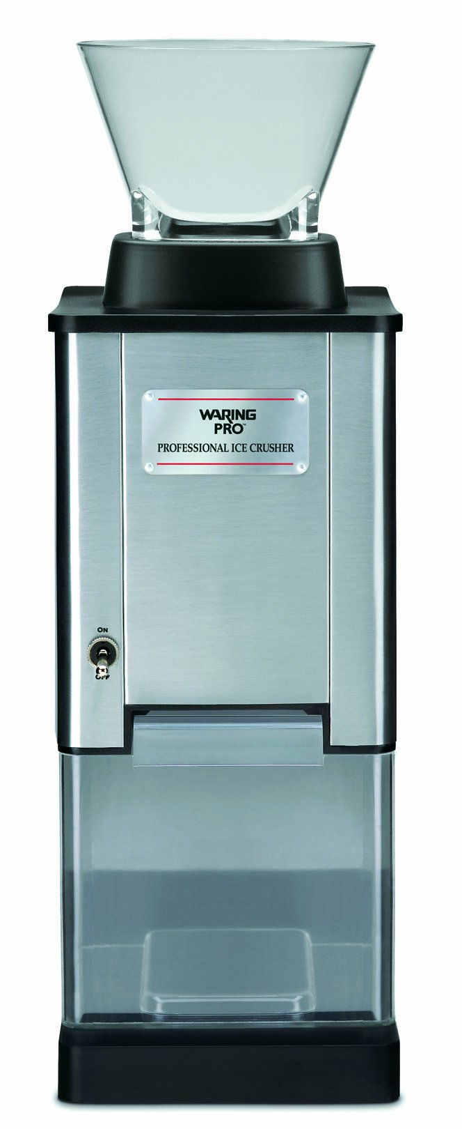 Waring Pro IC70 Professional Stainless Steel Large-Capacity Ice Crusher by Waring