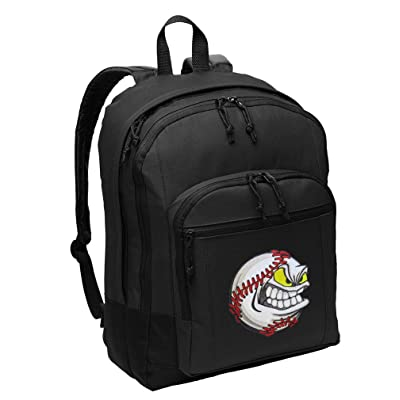 Baseball Backpack CLASSIC Style Baseball Fan Backpack Laptop Sleeve 85%OFF