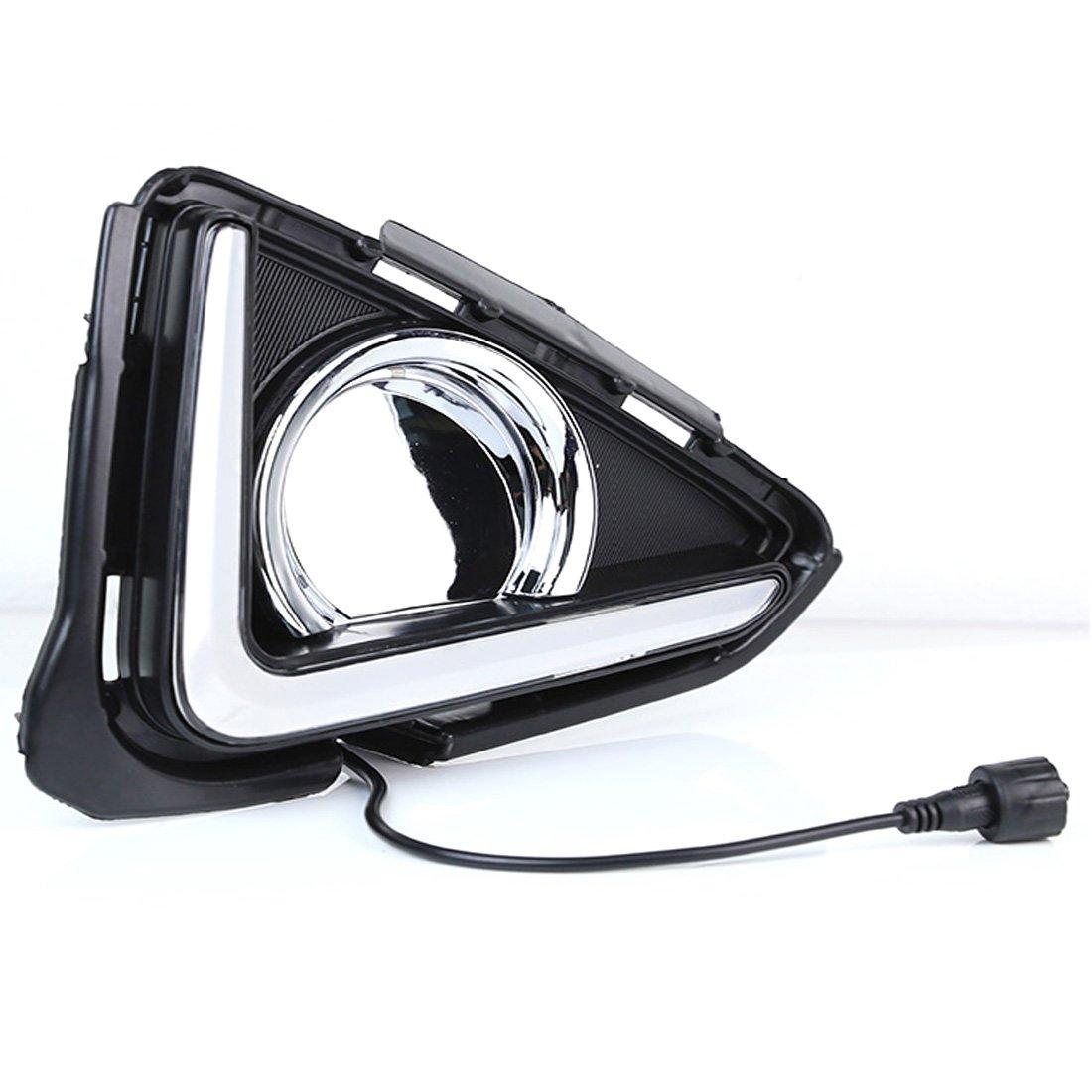 dongzhen Tagfahrlicht LED-Scheinwerfer Lampe für Toyota RAV4 2016 ...