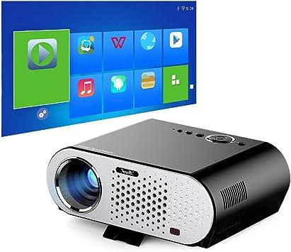 Proyector de Video NewPal Proyector de 3200 lúmenes con proyector ...