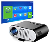 NewPal 3200 Lumens LED Projector with Android Bluetooth WiFi 1280*800P Miracast AC3 Mini Beamer Proyector