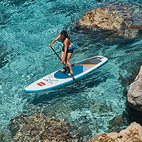 Red Paddle Co 2018 Sport 113 Inflatable Stand Up Paddle Board + Bag, Pump, Paddle & Leash: Amazon.es: Deportes y aire libre