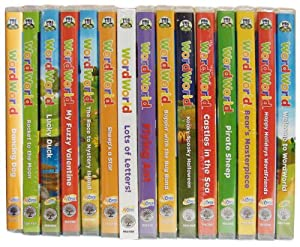 Amazon Com Complete Word World 16 Dvd Collection Pbs