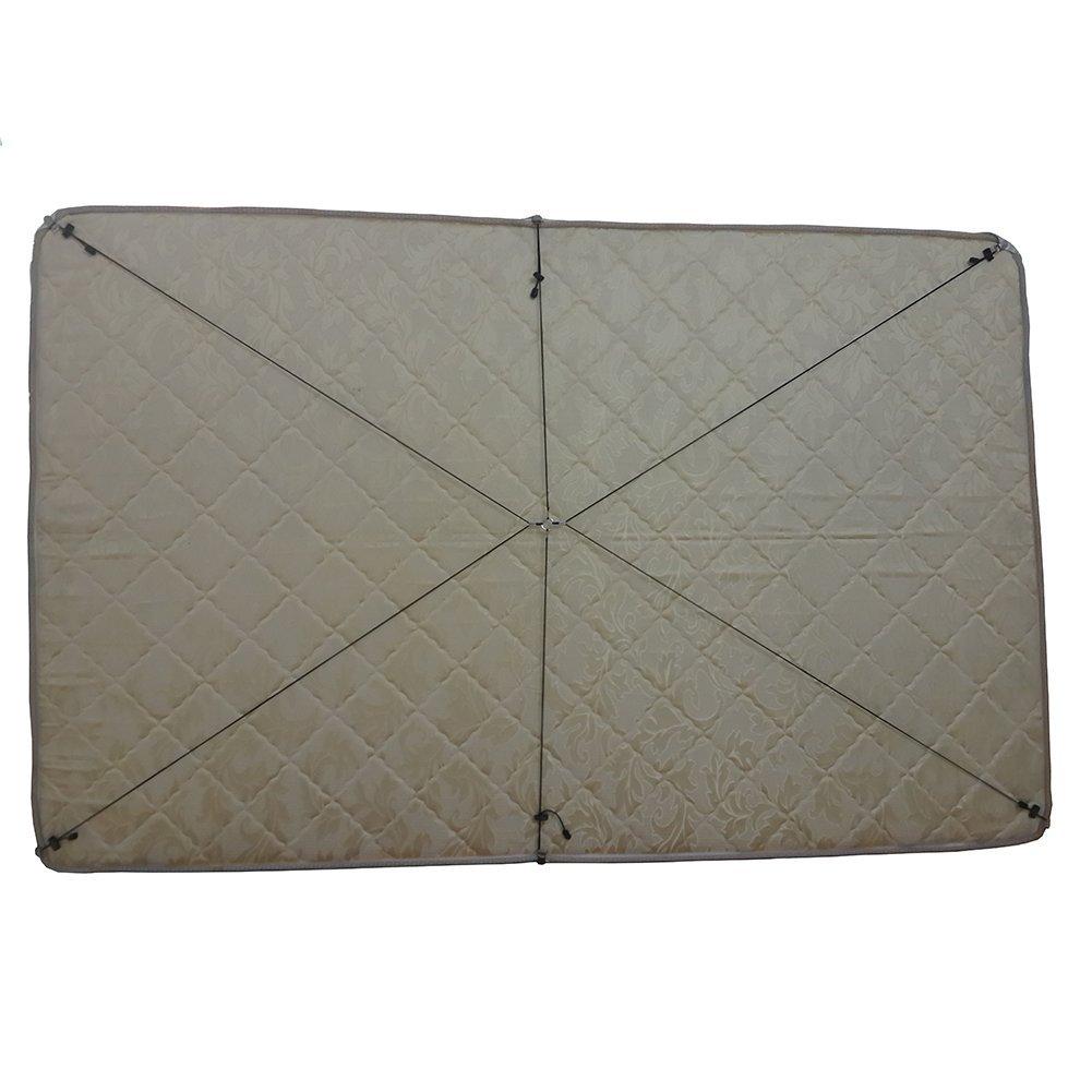 Toweter corda di nylon materasso sotto il letto / lenzuolo chiusura, cinghie lenzuolo attraversano le bretelle, fodera di fissaggio, bande di clip lunga cinghia (B) Prezzi offerte