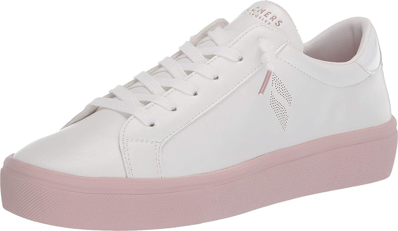 Skechers Ranking TOP18 Street Goldie 2.0 5 popular - White Pink Soles Saturated