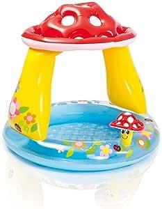 Piscina Hinchable redonda Seta con parasol 57407 Intex Jardín ...