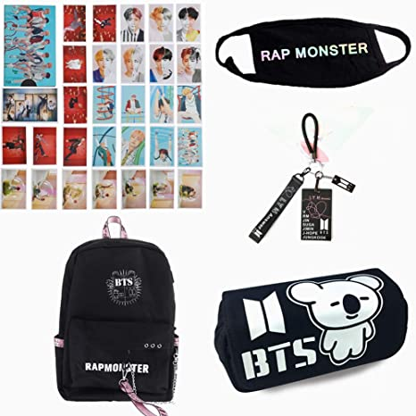 Amazon.com: Hosston Kpop BTS Serie de suministros escolares ...