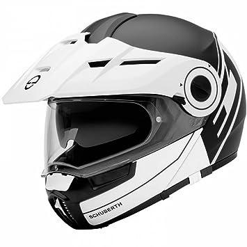 Schuberth E1 Radiant Blanco Motocicleta Casco