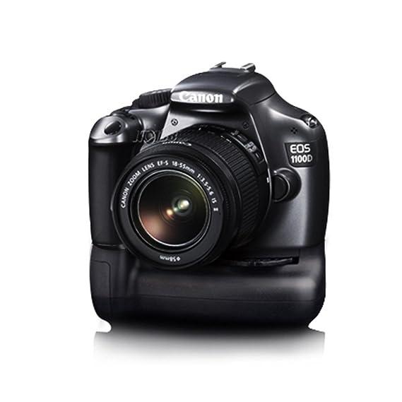 Empuñadura de batería para Canon EOS 1100d 1200d Rebel T3 T5 BESO ...