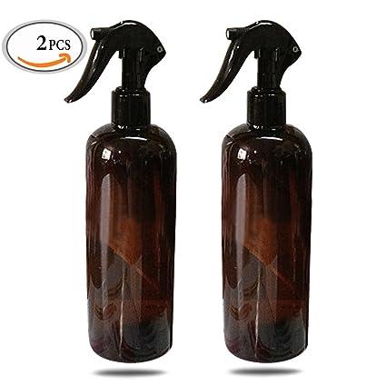 Mlmsy - Botella de ámbar vacía con spray para limpieza con aceites