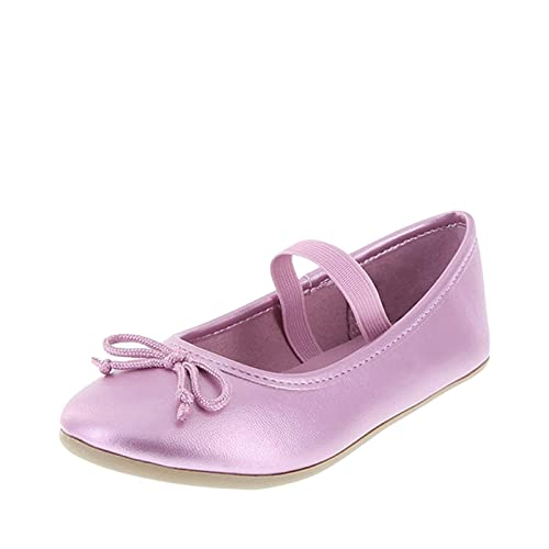 533ce1a48ab Zoe and Zac Lilac Textured Girls  Toddler FAE String-Tie Flat 5 Regular