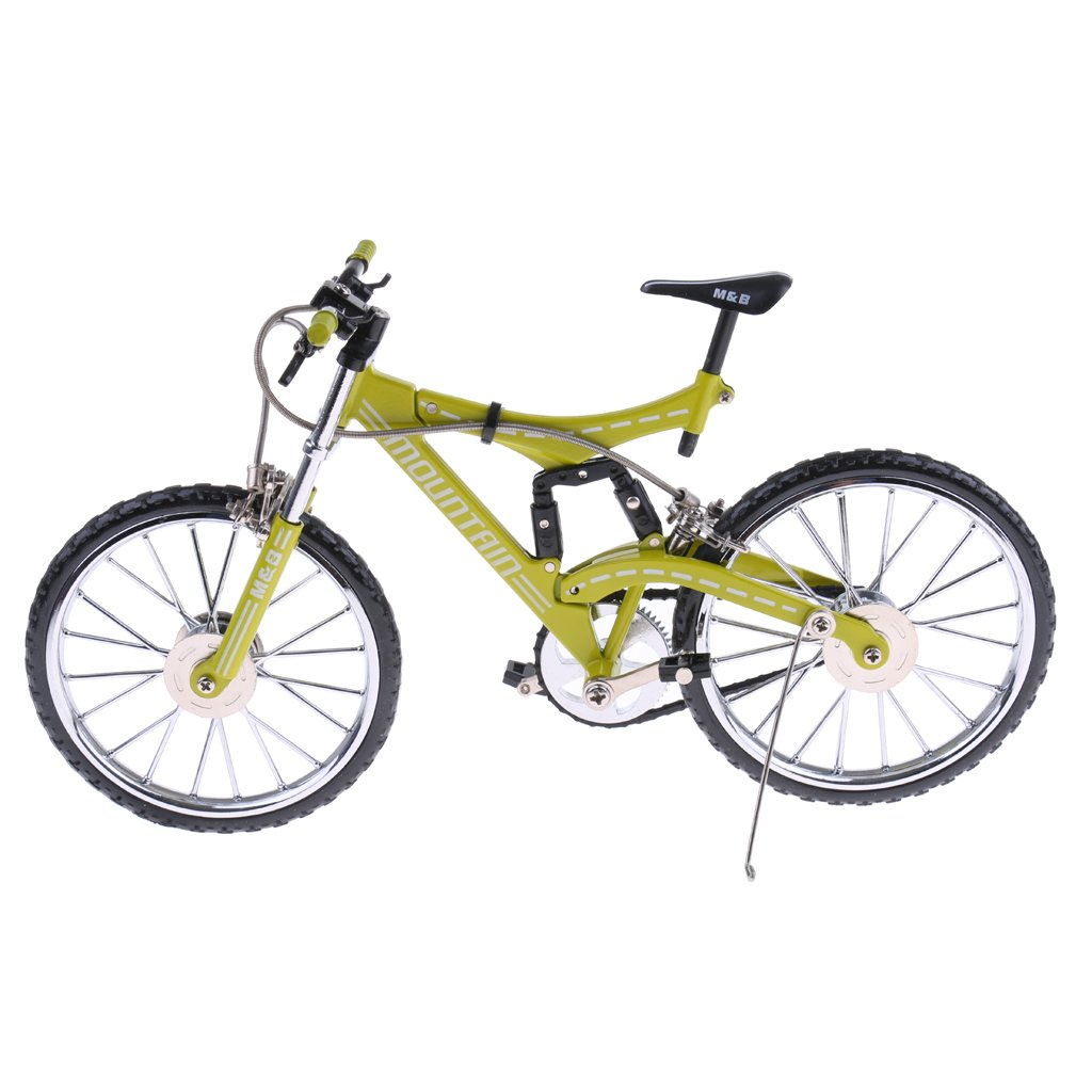 Dolity Mini Bicycle Diecast Mountain Bike Replica Model for Adult's Collection B#