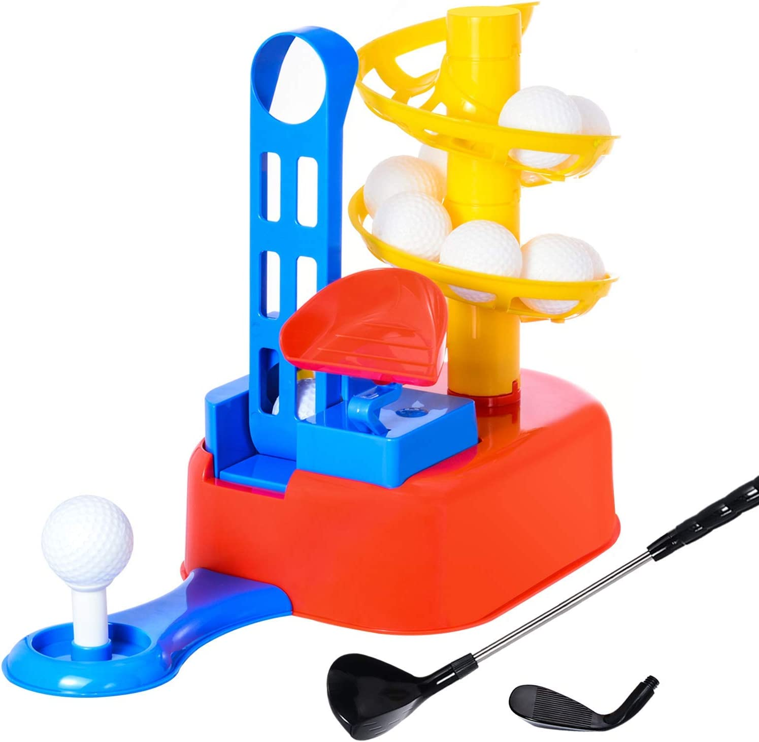 Exercise N Play Golf Toys Set, Kids Outdoor Toys, Kids Golf Clubs, Golf Ball Game, Early Educational