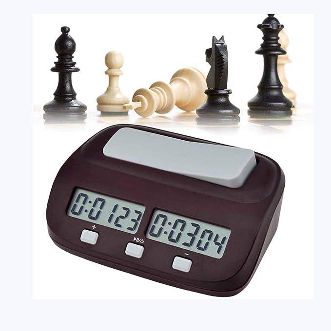 Ai LIFE Reloj de ajedrez Temporizador de Juego y ajedrez Digital Multifuncional Profesional con bonificación y retraso.: Amazon.es: Hogar