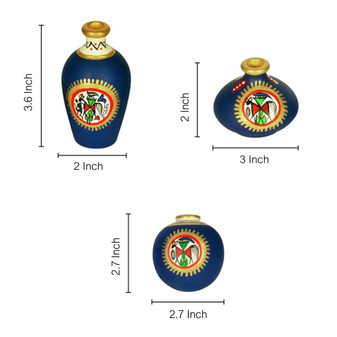 warlipainting-pots-madhubanipainting-pots-miniature-pots-homedecor