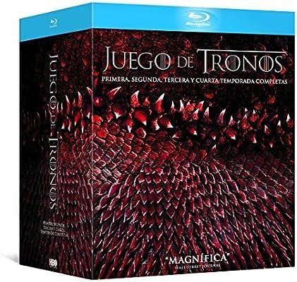 Pack Juego De Tronos - Temporadas 1-4 [Blu-ray]: Amazon.es: Peter ...