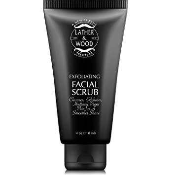 Amazon Com Best Face Wash For Men Lather Wood S Face Scrub