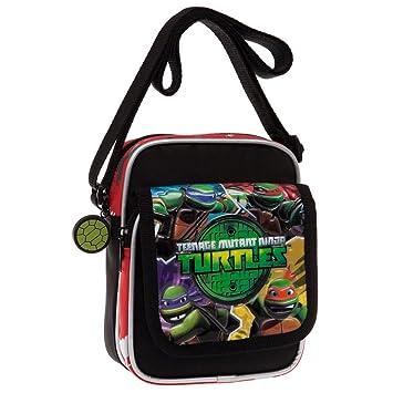 Amazon.com: Tortugas Ninja Bolsa de mensajero, 7.5 inch, 2 ...