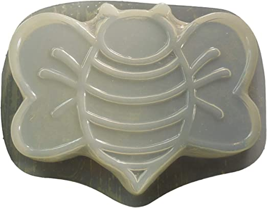 """Plaster concrete  Victorian stepping stone plastic mold 12/"""" x 2/"""" thick"""
