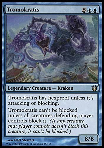 - Born of the Gods by Magic: the Gathering Magic: the Gathering Tromokratis 55//165