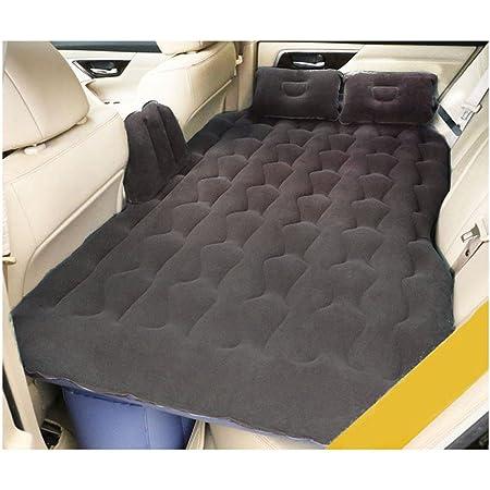 Han sui song Cama Inflable del Coche colchón de Asiento Trasero de Coche al Aire Libre SUV Cama de Aire de Viaje para Adultos Almohadilla de Dormir ...
