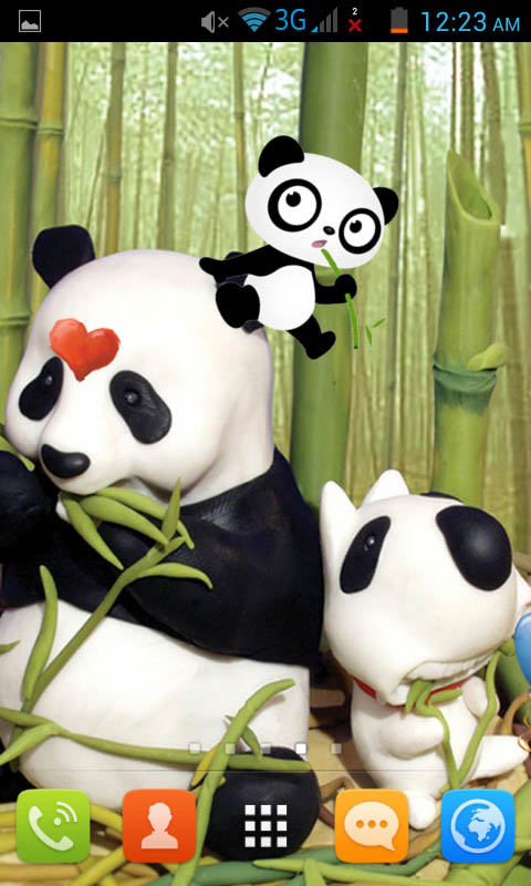 Amazon Panda Cartoon Live Wallpaper Best Appstore For Android