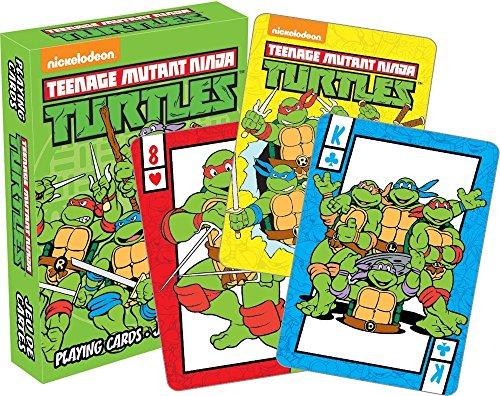 (Aquarius Teenage Mutant Ninja Turtles Playing Cards Playing)