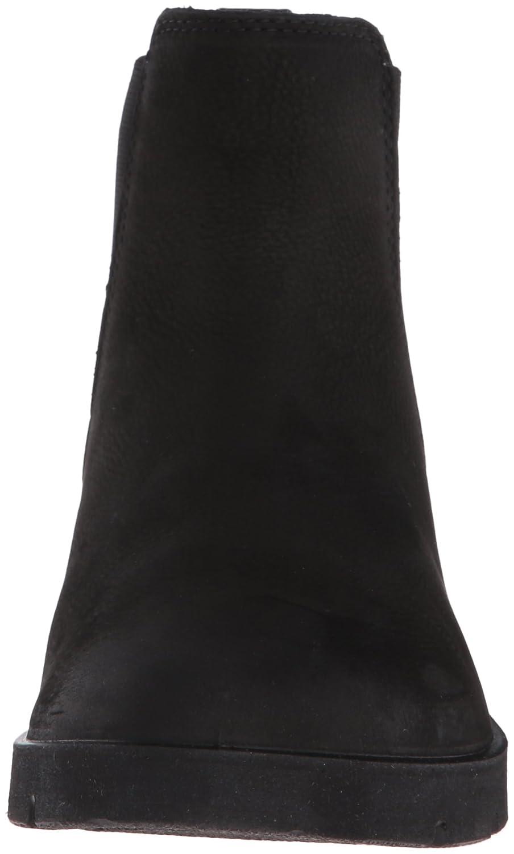 ECCO Women's Bella Chelsea Boot B01AATX8OK 37 EU/6-6.5 M US|Black Nubuck