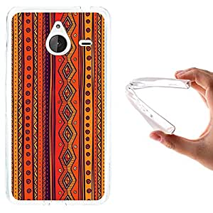 WoowCase - Funda Gel Flexible { Microsoft Lumia 640 XL } Estampado Tribal Carcasa Case Silicona TPU Suave