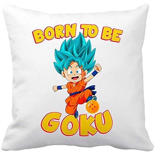 Cojín con Relleno Dragon Ball Super Born To Be Goku Super ...