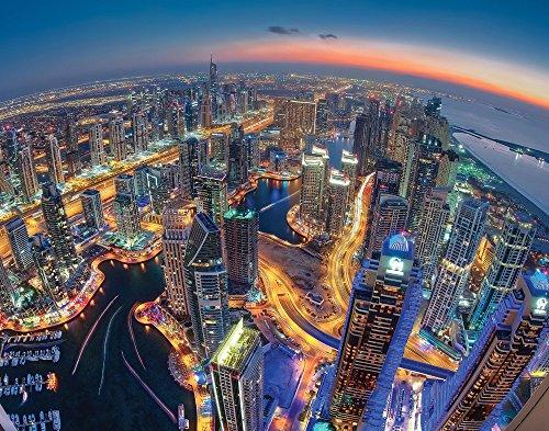 - JP London Sanjay Pradhan Dubai Colors of Night City Skyline Lights 2