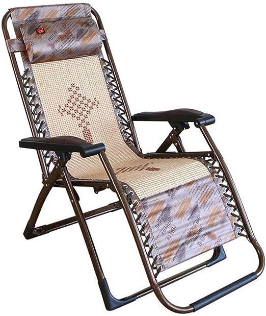 Sillas Plegables Sillas reclinables Sillas de jardín Sillas de Sol Sillón de Gravedad Cero: Amazon.es: Hogar