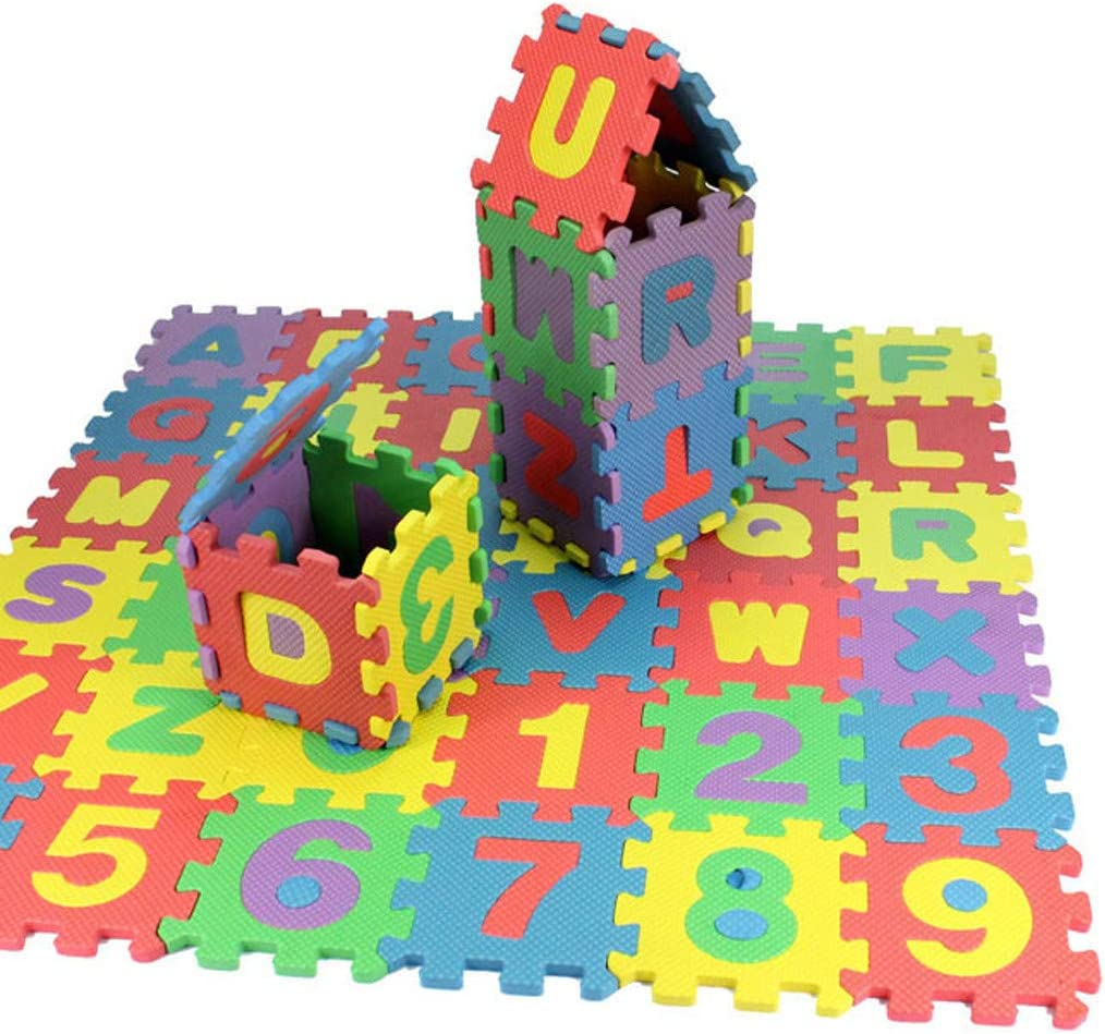 milkcha Jigsaw Puzzles,36Pcs Baby Child Number Alphabet Puzzle Foam Maths Educational Toy Gift,1000 Piece Puzzles for Adults