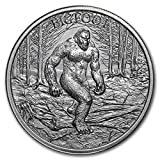 Bigfoot 2 oz .999 Silver Round Sasquatch American